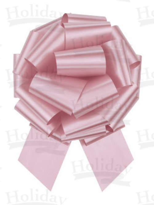#40 Poly Satin Pull Bow/PINK/50 pack