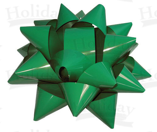Giant Star Bow - 22 inch Wide/GREEN