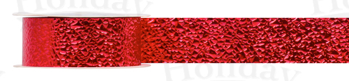 #09 Glimmering Ice Ribbon/RED/25 yds