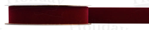 #09 Velvet Ribbon/BURGUNDY/25 yds
