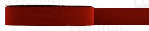 #09 Velvet Ribbon/BRICK/25 yds