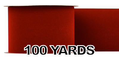 #100 Velvet Ribbon/BRICK/100 yds
