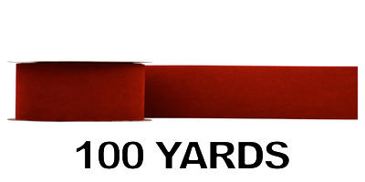 #40 Velvet Ribbon/BRICK/100 yds