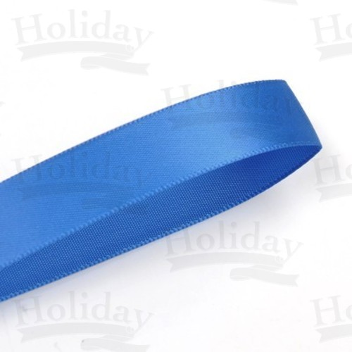 Double Face Satin Ribbon, Royal, 1/8 inch (3 mm)