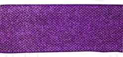 "#40 Ribbon, 2.5""X10Y, Purple ""Partytime"", Wired Edge"