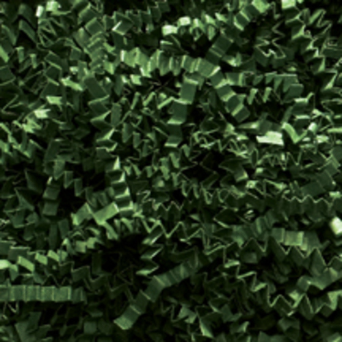 Crinkle Cut Paper Shred, Forest Green, 40#