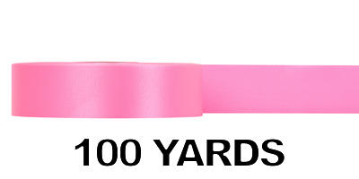 #09 Poly Satin Ribbon/AZALEA/100 yds