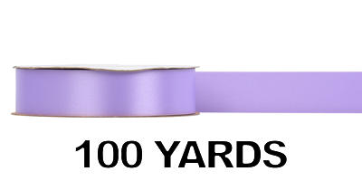 #09 Poly Satin Ribbon/LAVENDER/100 yds
