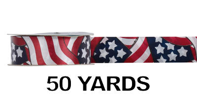 #09 Poly Print Ribbon/GLORY/50yds