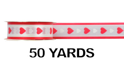 #09 Poly Print Ribbon/QUEEN OF HEARTS/50yds
