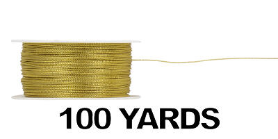 Tinsel Cord, Wired/GOLD/100 yds