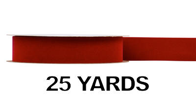 #09 Gold Back Ribbon/BRICK/25 yds