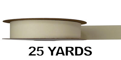 #09 Gold Back Ribbon/CREAM/25 yds